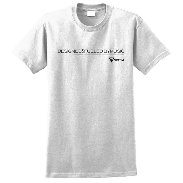 The Vratim Tagline T-Shirt front