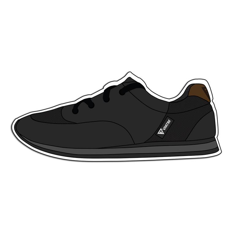 The Vratim Drum Shoe Die-Cut Sticker