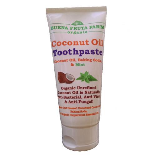 Coconut Oil Toothpaste, Organic