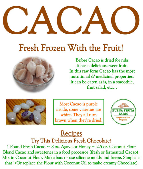 Cacao Recipe