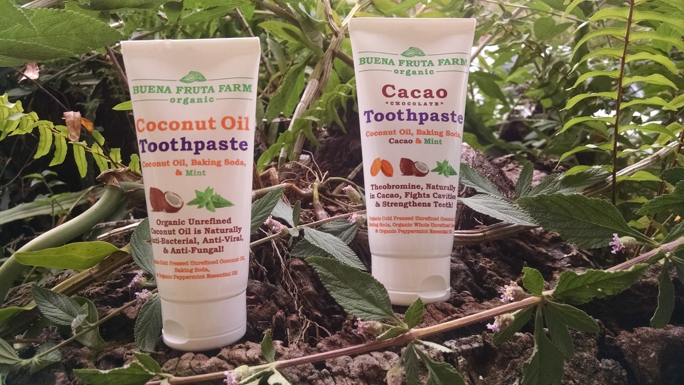 Cacao Toothpaste Coconut Oil Toothpaste
