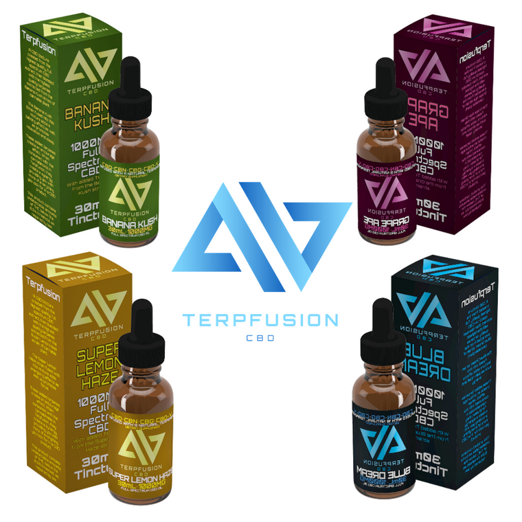 Photo of Terpfusion CBDs Terpene Infused Tinctures Available for Wholesale