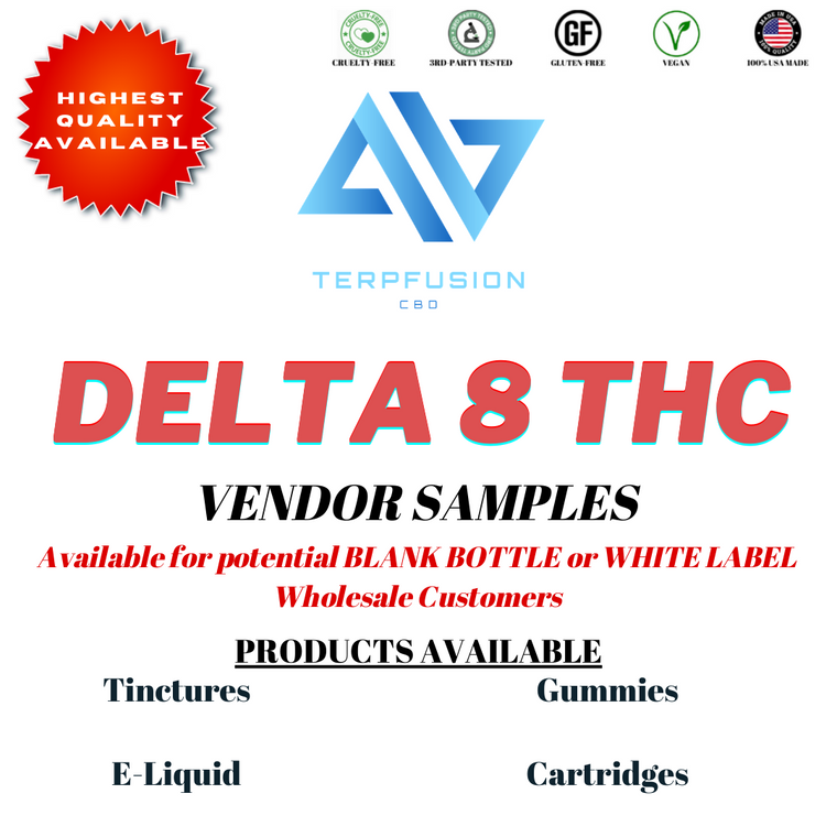 Delta-8 Samples | Wholesale Business Accounts
