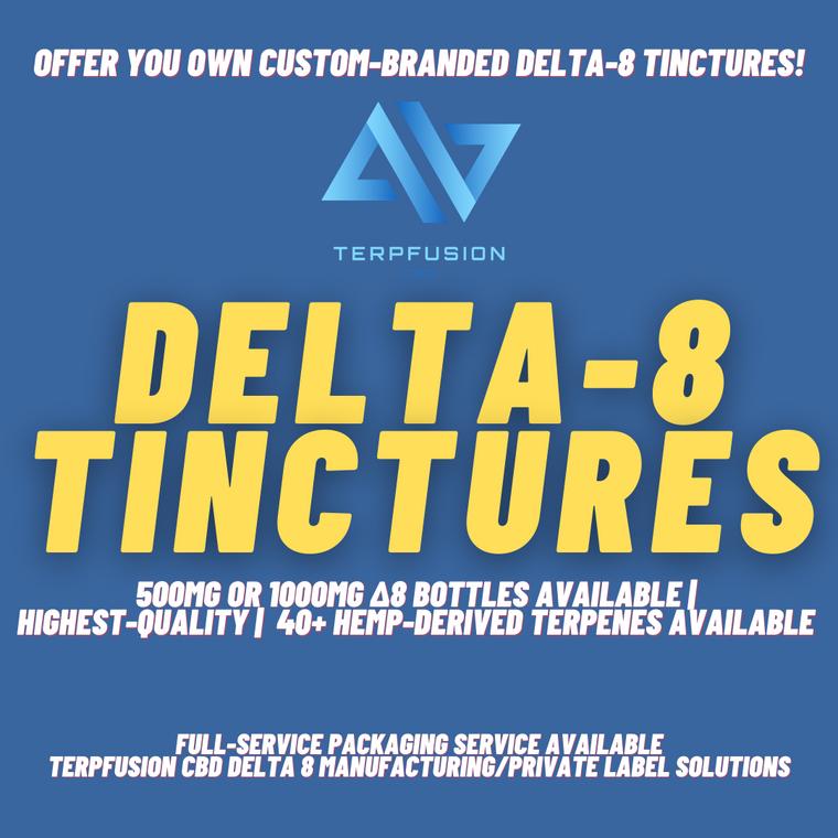 Custom Delta-8 Tinctures White Label Program Promotional