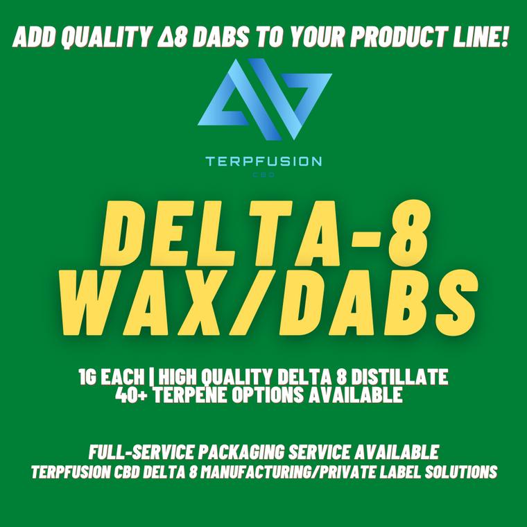 Delta 8 Dabs Private Label Promo