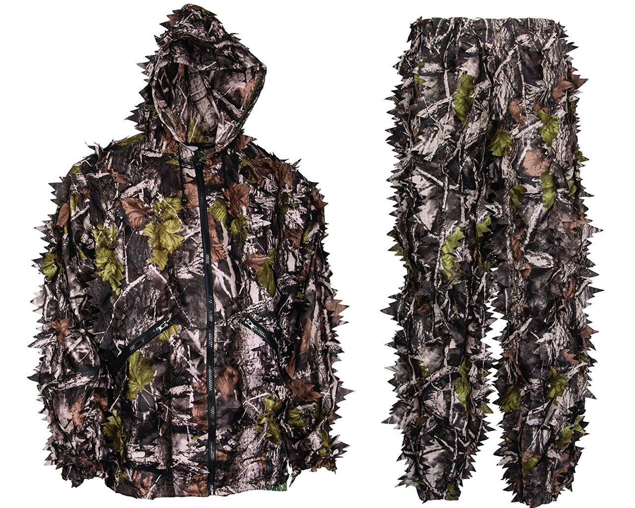 db8fb7f38b8fd Buy Swedteam Leafy Hunting Suit Online   Leafy Wear 3d Breakup ...
