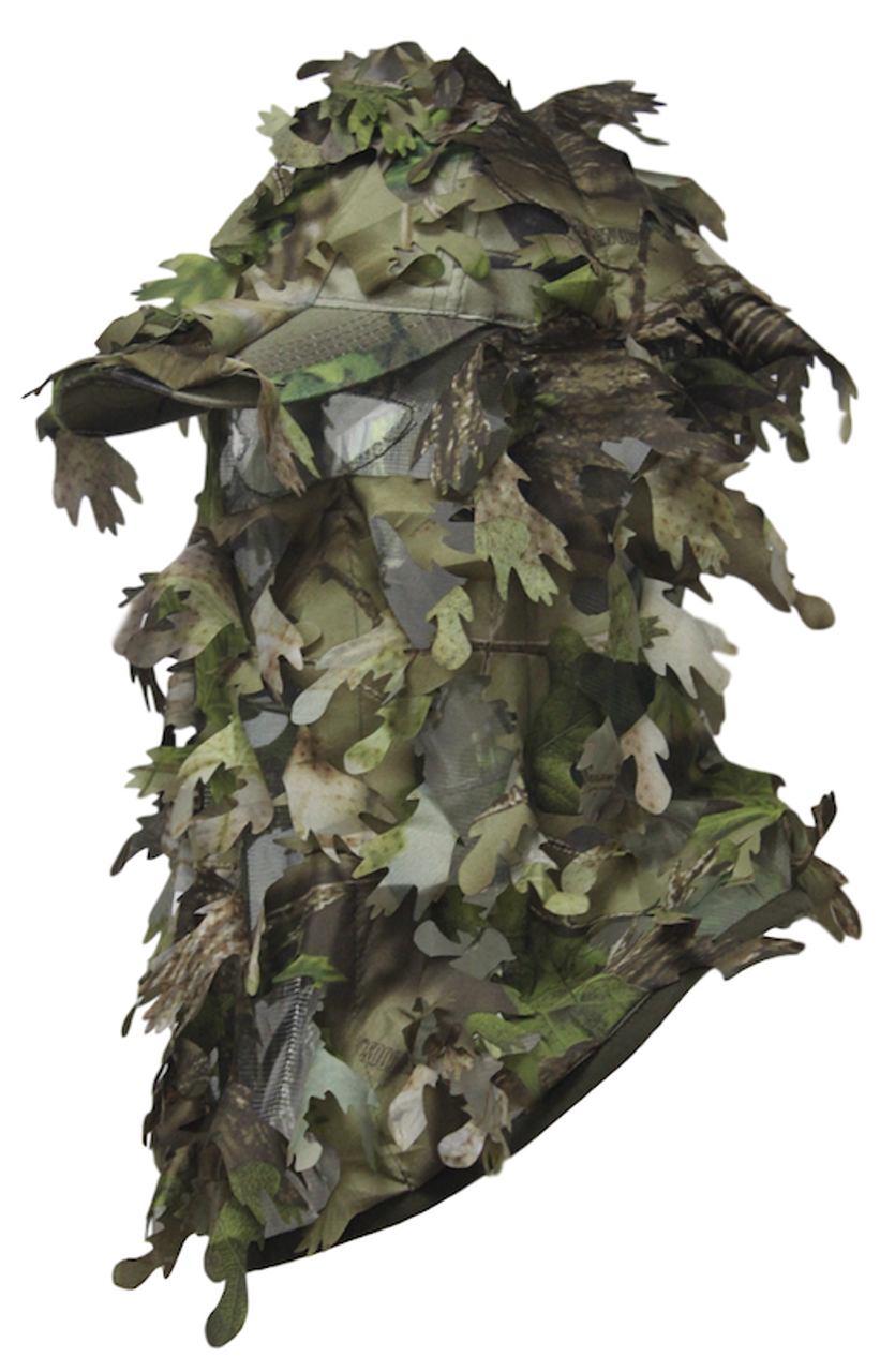 Full Cover Camouflage Leafy Hat With Mask 49b9d320836