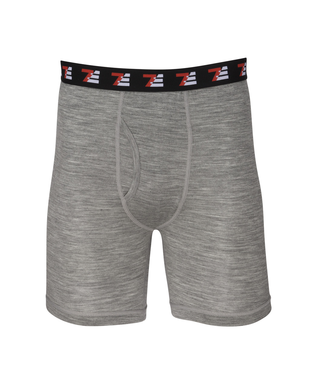 8fba01ae9a33 7EVEN Merino Wool 190 GSM Boxer Briefs Grey