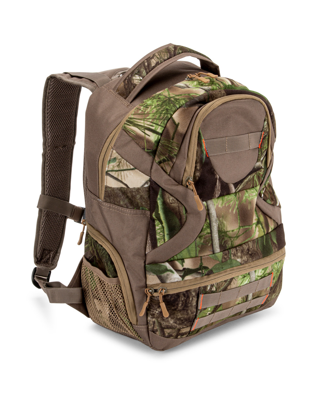 FANNY PACK CAMMO CAMOUFLAGE WOODLAND 4 POCKET LIGHT WEIGHT ADJUSTABLE HUNTING
