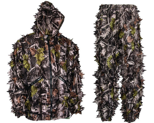 b10bc9c746290 Shop Premium 3D Leafy Camouflage Hunting Suits