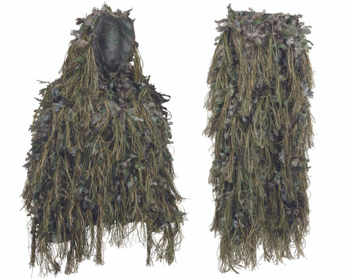 2018 Hybrid Green Ghillie Suit