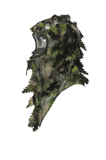 CAMOUFLAGE FACE MASK GREEN
