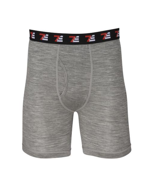 Mens Merino Wool Boxers Grey