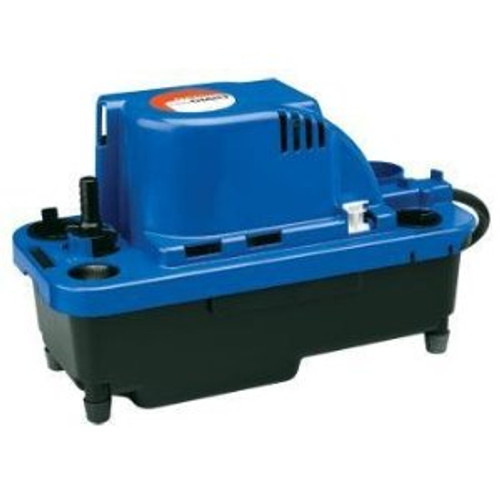 Little Giant 554521 VCMX-20UL 1/30 HP Automatic Condensate Removal Pump, 6' Power Cord