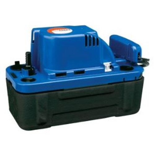 Little Giant 554542 VCMX-20ULS-C 1/30 HP Automatic Condensate Removal Pump, 6' Power Cord