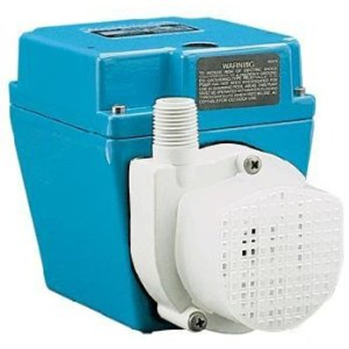 Little Giant 503203 3E-12NR, 1/15 HP, 670 GPH - Dual Purpose Pump, 6' Power Cord