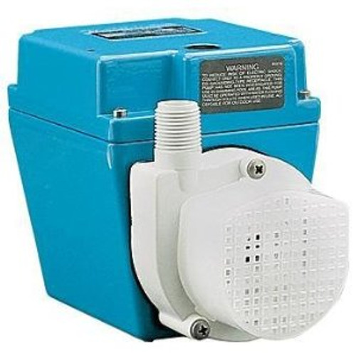 Little Giant 504203 4E-34NR, 1/12 HP, 810 GPH - Small Submersible Pump, 6' Power Cord