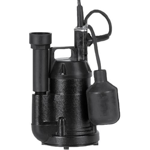 Little Giant 620136 SP25A - 1/4 HP Aluminum Submersible Sump Pump