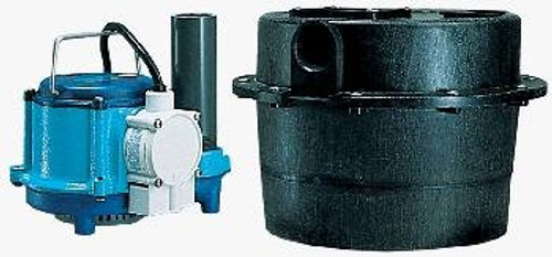 Little Giant 506066 WRSC-6 230 Volt 2700 GPH Cast-Iron Sump Pump