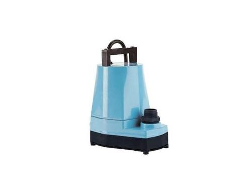 Little Giant 505500 5-MSP 1/6 hp 1200 GPH Blue Manual Utility Pump