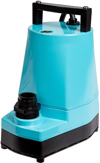Little Giant 506802 6EC Series 1/3 hp Manual Plastic Base Sump Pump