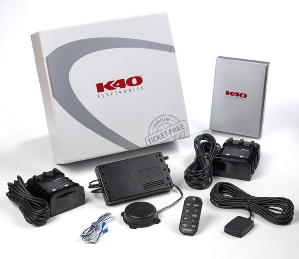 K40 Platinum Expert Dual Remote Radar