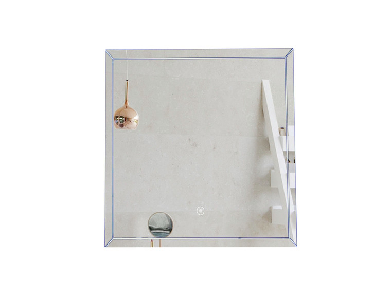 FERO 24 INCH WALL MOUNTED BATHROOM MIRROR WITH LED LIGHT