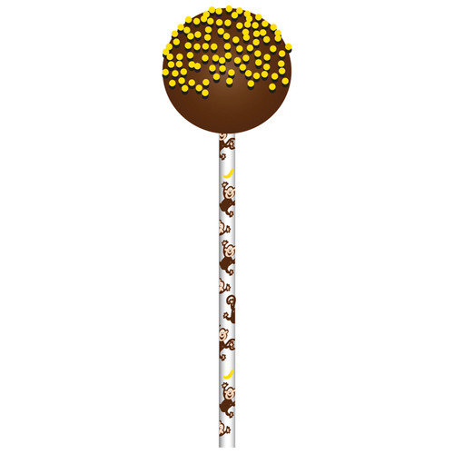 Monkey Bus 15cm CakePop Sticks [24pcs]