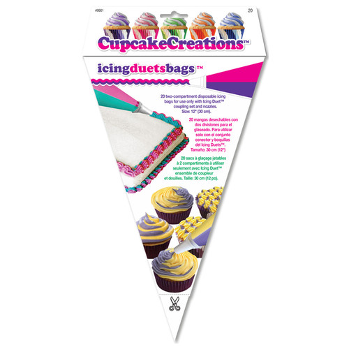 Icing Duets 12in Replacement Bags