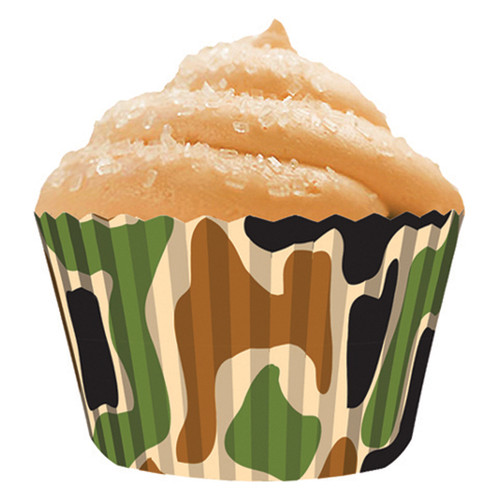 Camo Baking Cups [32pcs]