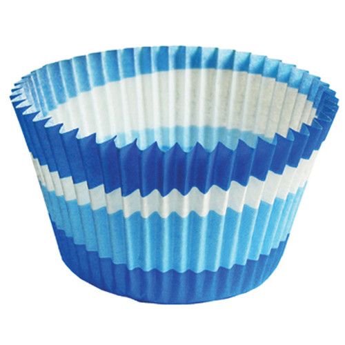 Blue Circle Jumbo Baking Cups [24pcs]