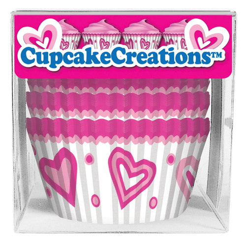 Happy Hearts Baking Cups [80pcs]