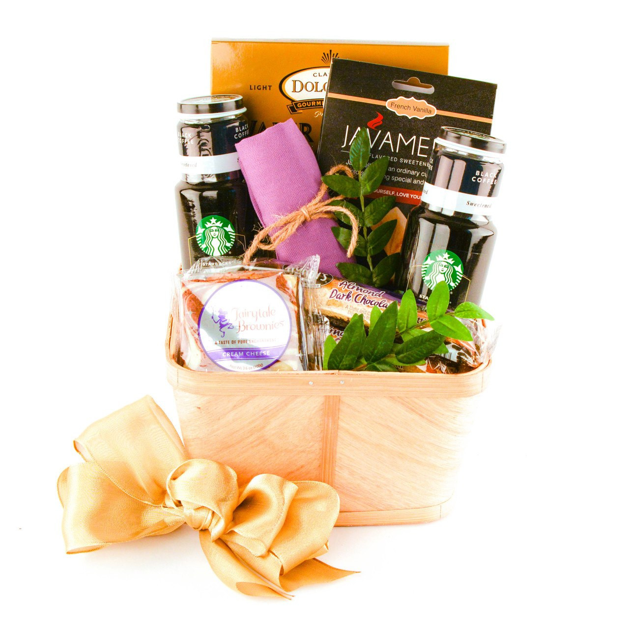 Starbuck Gift and Treats Gift Basket