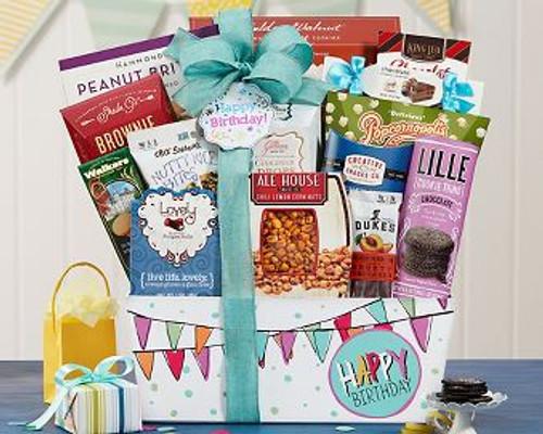 Happy Birthday Gift Basket