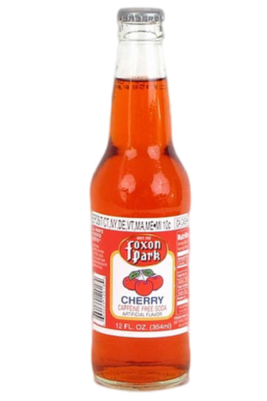 Foxon Park Cherry Soda ( 12 oz. glass bottles ...