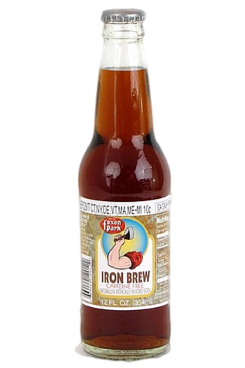 Foxon Park Iron Brew ( 12 oz. glass bottles ...