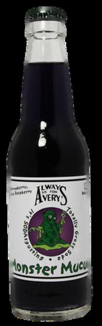 Avery's Totally Gross Monster Mucus Soda in 12 oz. glass bottles for Sale