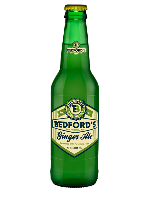 Bedford's Ginger Ale in 12 oz. glass bottles for Sale from SummitCitySoda.com