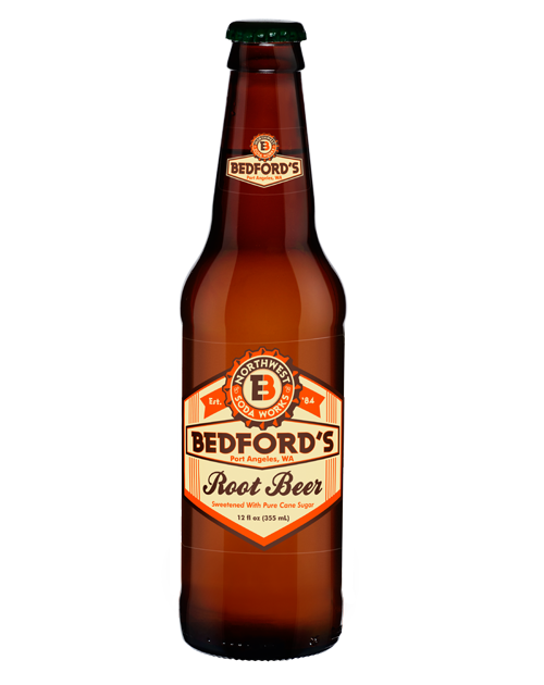 Bedford's Root Beer in 12 oz. glass bottles for Sale from SummitCitySoda.com