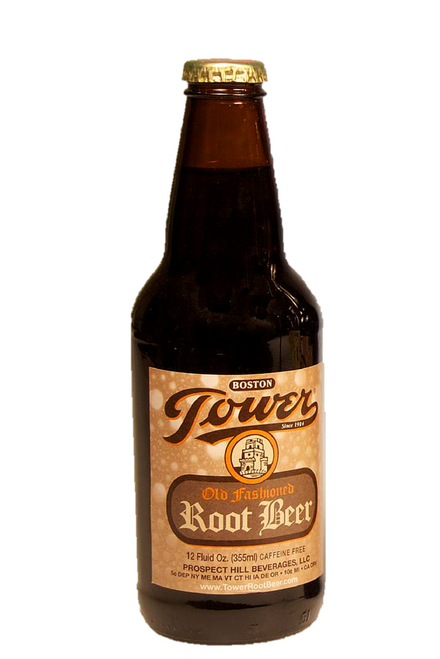 """Tower """"Ye Olde Fashioned"""" Root Beer in 12 oz. glass bottles for Sale from SummitCitySoda.com"""