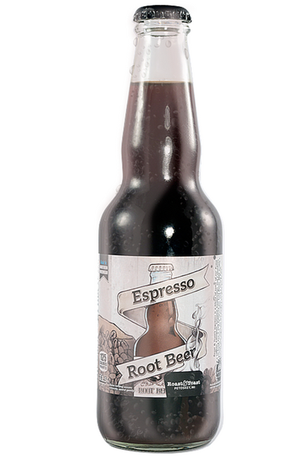 Northwoods Espresso Root Beer in 11.5 oz glass bottles for Sale at SummitCitySoda.com