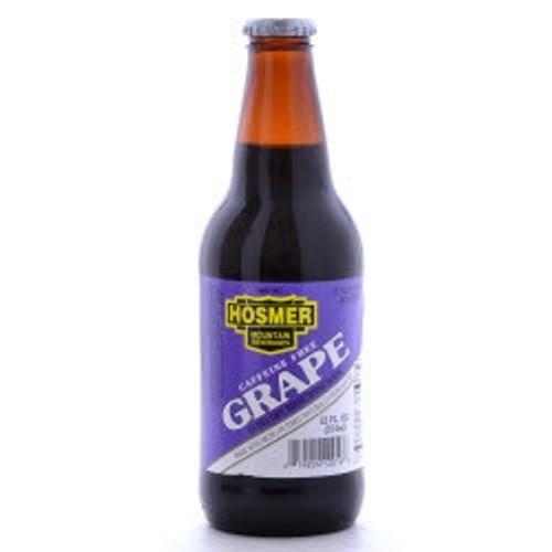 Hosmer Mountain Grape Soda in 12 oz glass bottles
