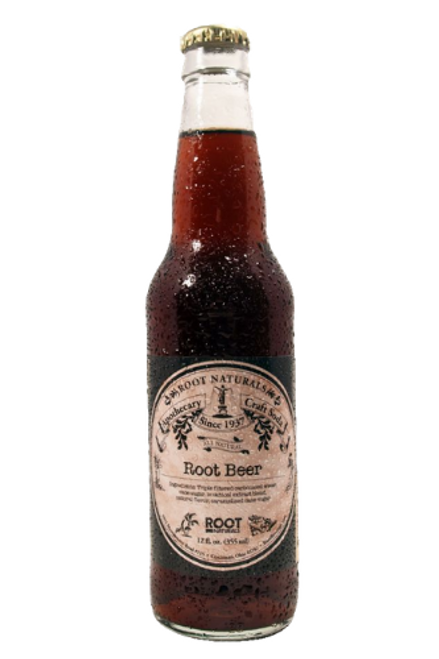 Root Naturals Apothecary Root Beer  - 12 pack of 12 oz glass bottles at SummitCitySoda.com