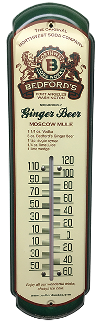 Bedford's Vintage Thermometer from SummitCitySoda.com
