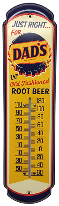 Dad's Root Beer Vintage Thermometer from SummitCitySoda.com