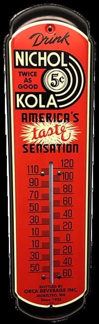 Nichol Kola Vintage Thermometer from SummitCitySoda.com