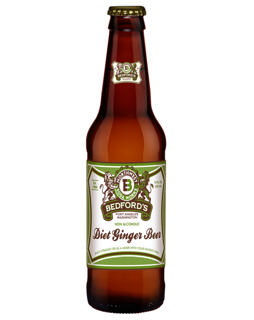 Bedford's Diet Ginger Beer  in 12 oz. glass bottles for Sale from SummitCitySoda.com