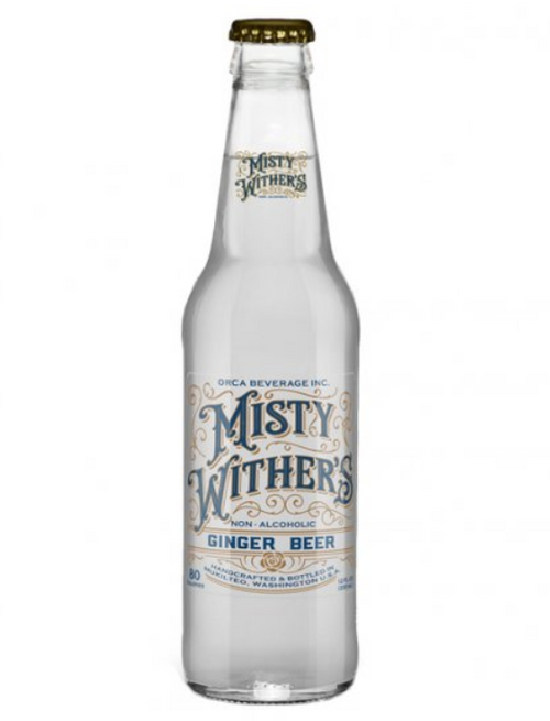 Misty Withers Ginger Beer in 12 oz. glass bottles for Sale from SummitCitySoda.com