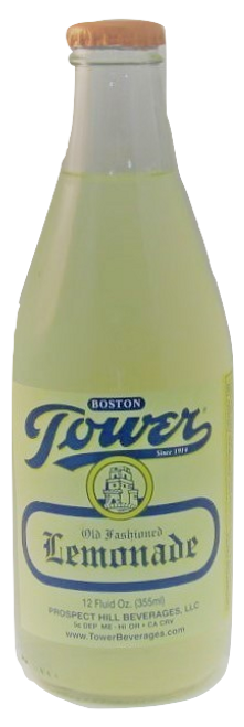 Tower Lemonade in 12 oz. glass bottles for Sale at SummitCitySoda.com