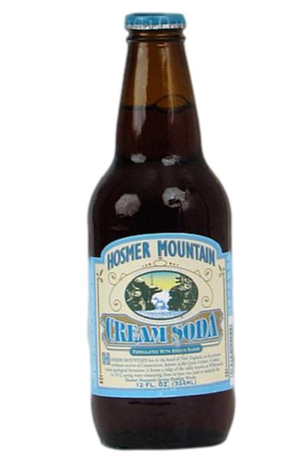 Hosmer Mountain Antique Cream Soda in 12 oz. glass bottles for Sale at SummitCitySoda.com